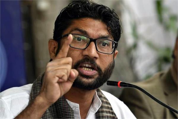 hathras gangrape declares india shutdown opposition  jignesh mewani