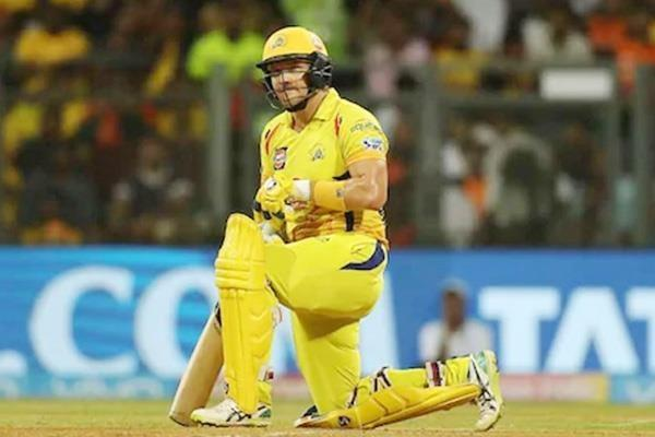 shane watson is back in the game of powerplay