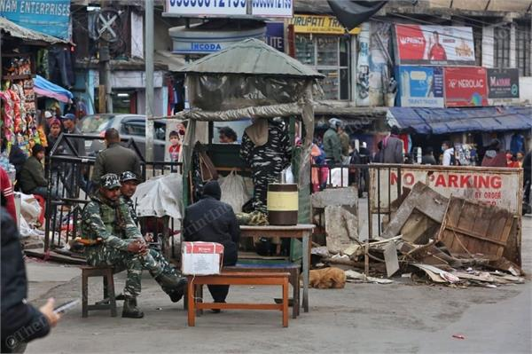efforts by shillong  meghalaya  government to evict punjabis from their colony