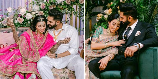 parmish verma geet grewal wedding ceremony begins