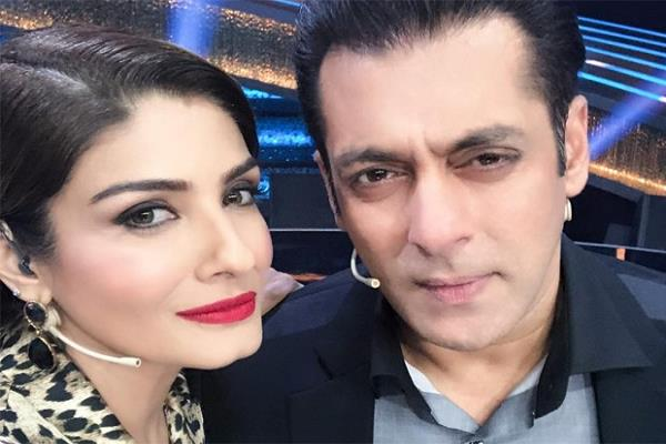 raveena tandon had a fight with salman during her debut film
