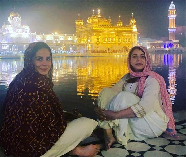 bollywood actress kirti kulhari golden temple amritsar