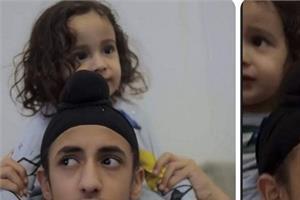 gippy grewal son video viral on social media