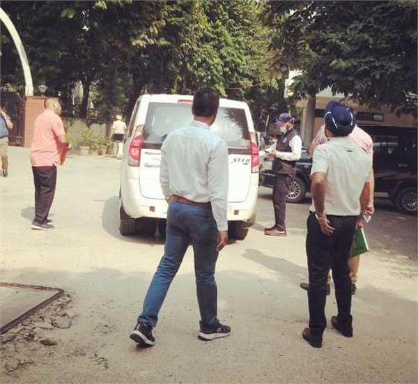 jalandhar bus stand vigilance bureau raid