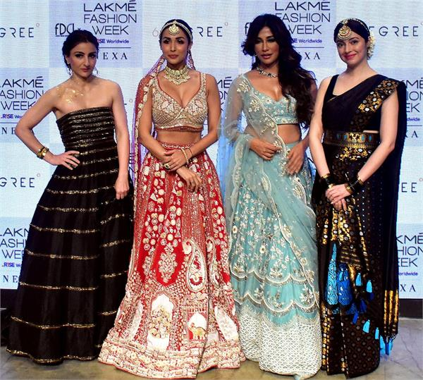 lakme fashion week 2021 grand finale bollywood celebrities