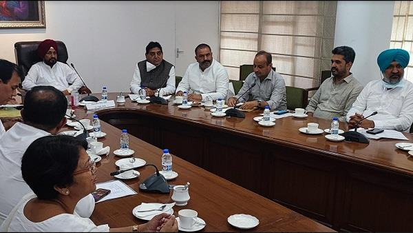 the chief minister with the individual mla to resolve the issues