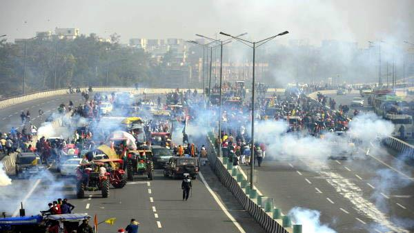 indian farmers union blames police for violence
