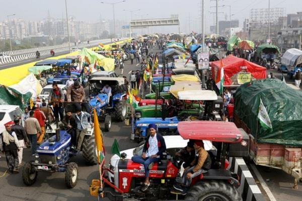 delhi farmers tractor parade