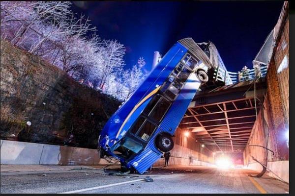 newyork bus accident