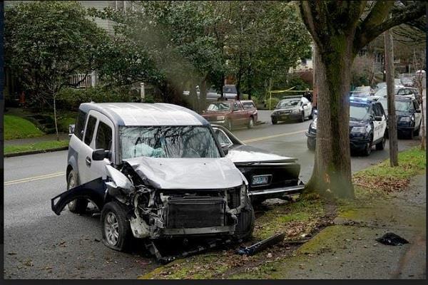 portland car crash