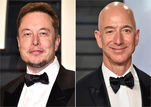 jeff bezos has overtaken alan musk to become the richest man in the world