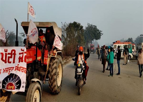 farmers tractor parade in delhi