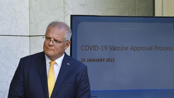 scott morrison  covid 19 vaccine  approved