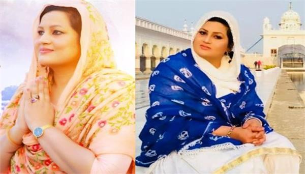 parveen bharta shared her picture with showing punjab