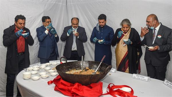 final stage of budget 2021 22 commences with halwa ceremony