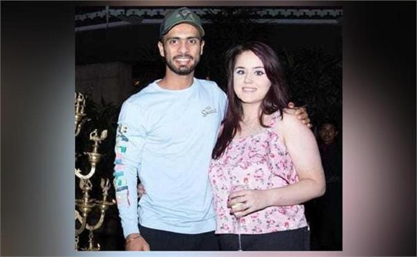 cricketer mandeep singh  wife jagdeep  blessed  baby boy