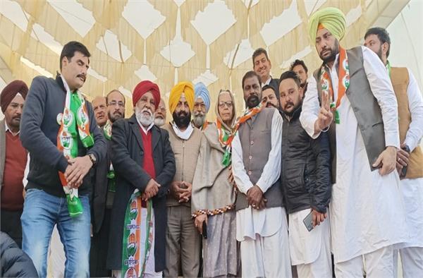 akali dal  former councilor  comrades  congress  involved