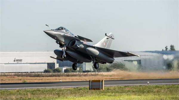 republic day rafale will join the parade for the first time today