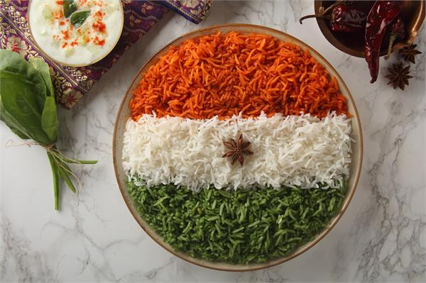 cooking tips  make a special tricolor on the occasion of republic day