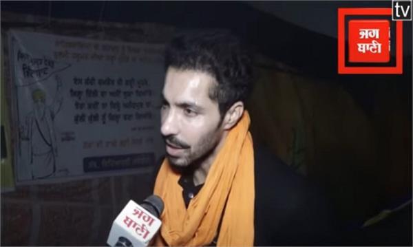 farmers protest punjabi actor deep sidhu