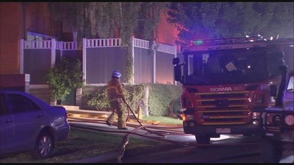 melbourne  home  fire