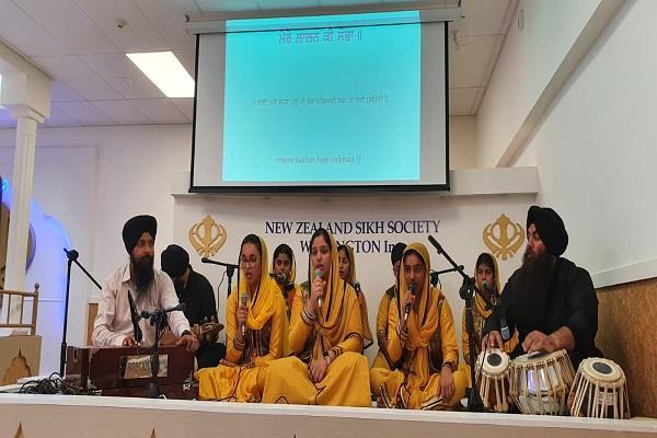 gurmat sangeet workshop organized by wellington sikh society