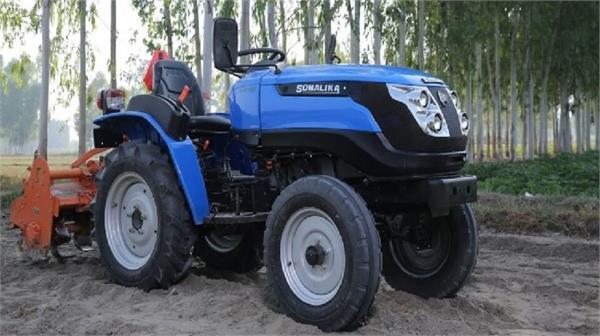 sonalika electric tractor launch