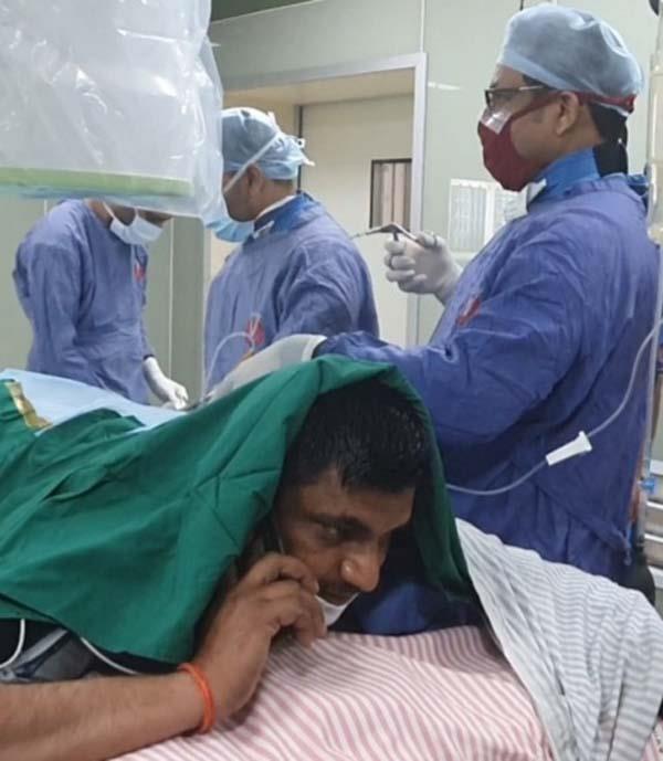 patient  operation mobile talking jalandhar
