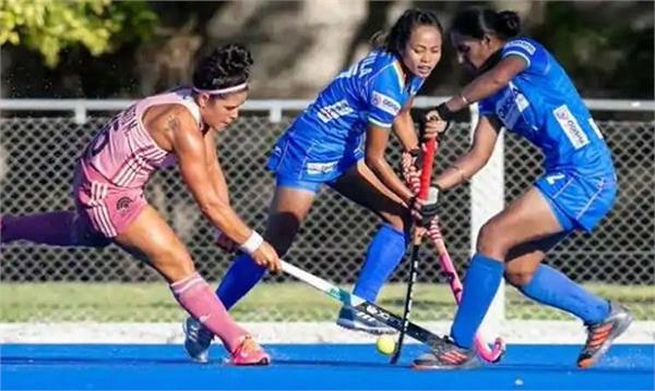 indian women hockey team  argentina tour  first defeat