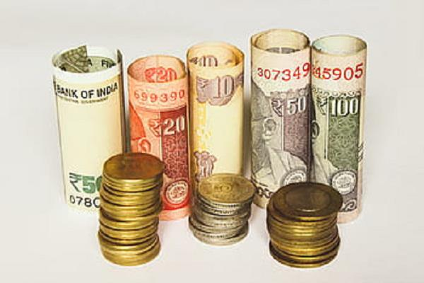 the rupee had gained four paise to 72 93