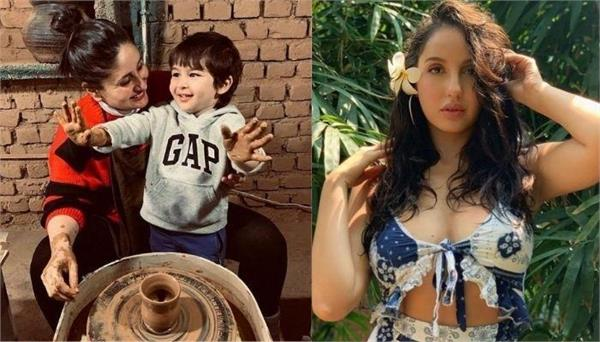 nora fatehi says she wants to marry taimur ali khan