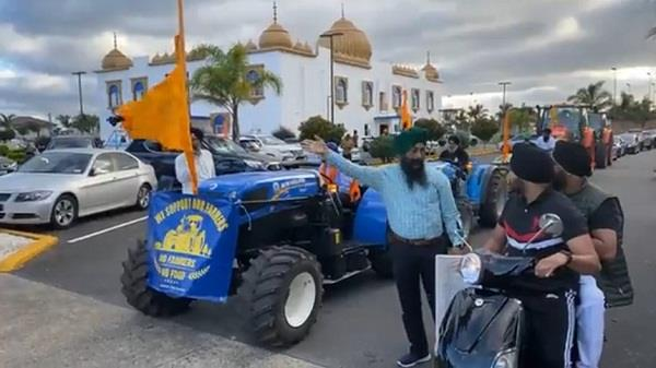 new zealand tractor parade farmers protest