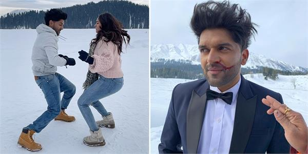 guru randhawa shooting in minus 9 degree
