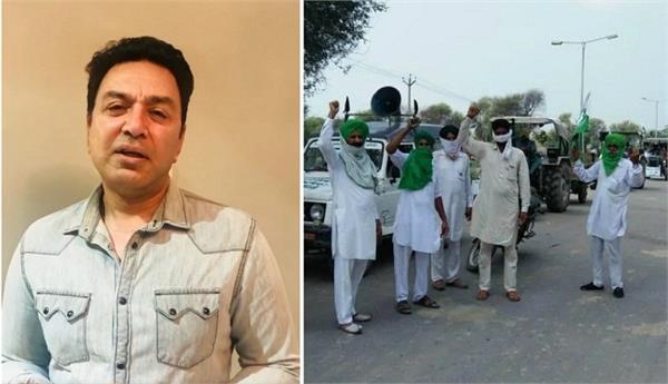 farmers protest punjabi singer manmohan waris