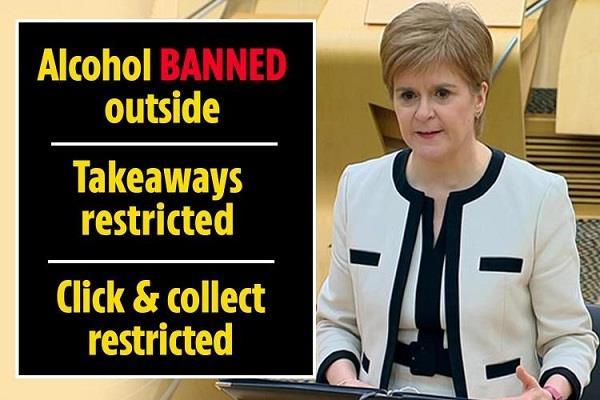 scotland  nicola sturgeon  lockdown rules