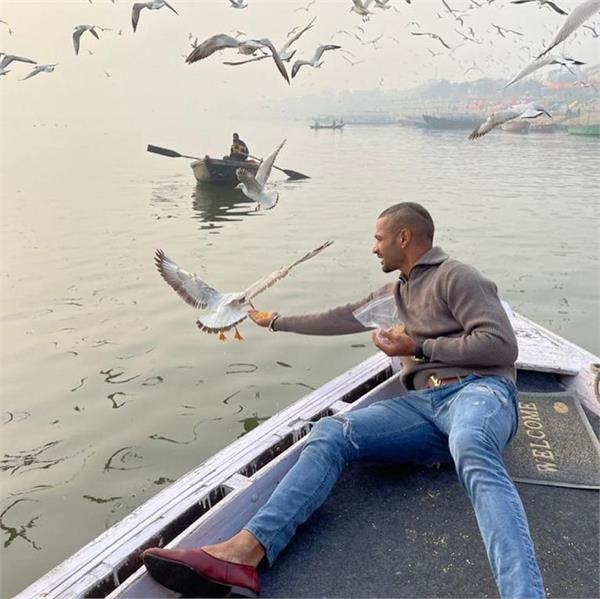 shikhar dhawan  feed grain birds   district administration  action