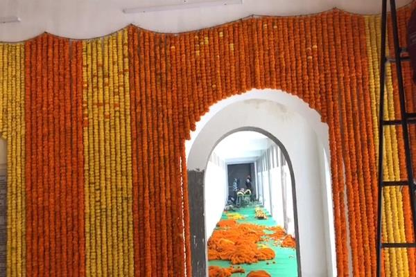 sri patna sahib prakash utsav abroad flowers