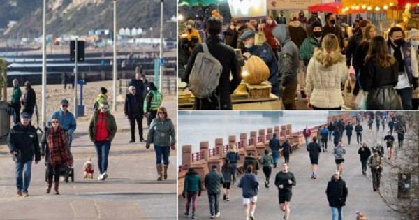 british people  third national lockdown