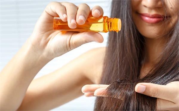 beauty tips hair oils applying