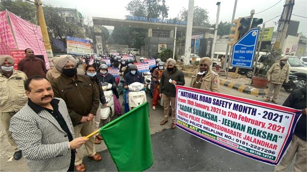 women police  traffic rules  awareness