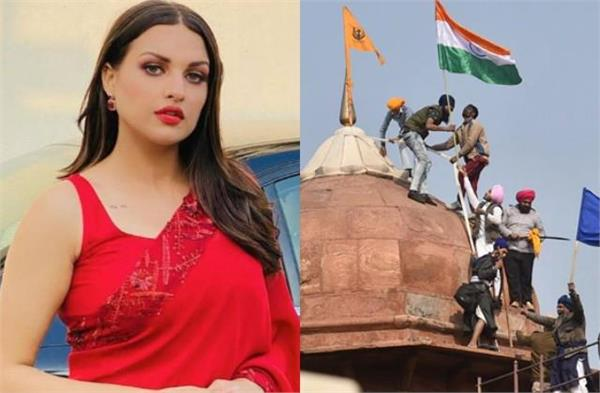 violence in favor of farmers even after himanshi khurana big thing