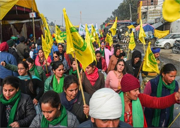 farmers protest in delhi borders