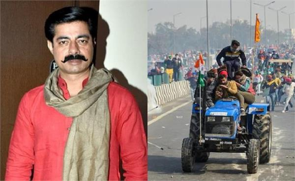 bollywood actor sushant singh tweet on farmers tractor rally violence