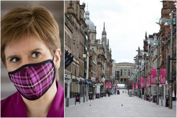scotland  lockdown  nicola sturgeon
