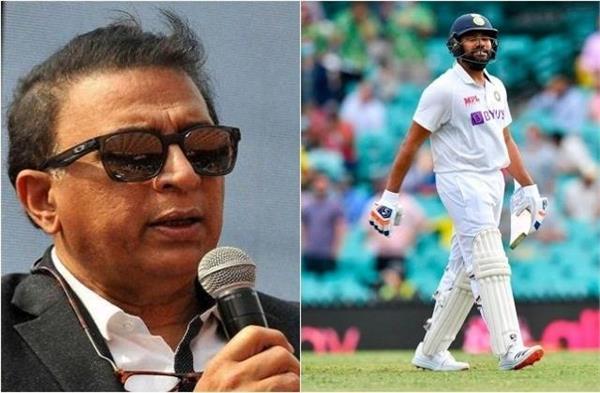 gavaskar lashed out at rohit sharma  s bad shorts  the statement said