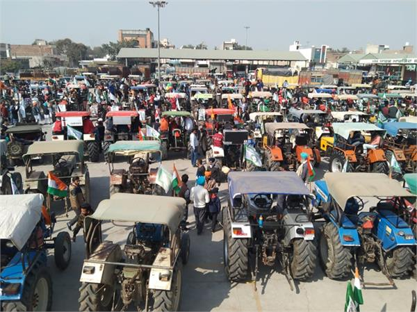 republic day tractor parade farmers