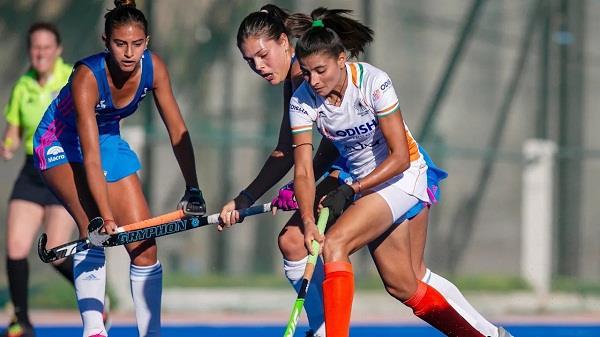 indian women s hockey team match draw
