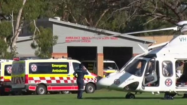 australia two children killed