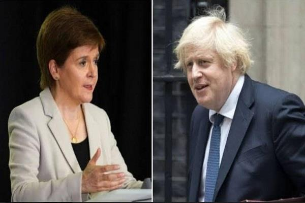 p  m  boris johnson  s visit to scotland not necessary  nicola sturgeon