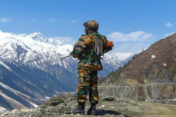 indian army chinese soldier lac arrested